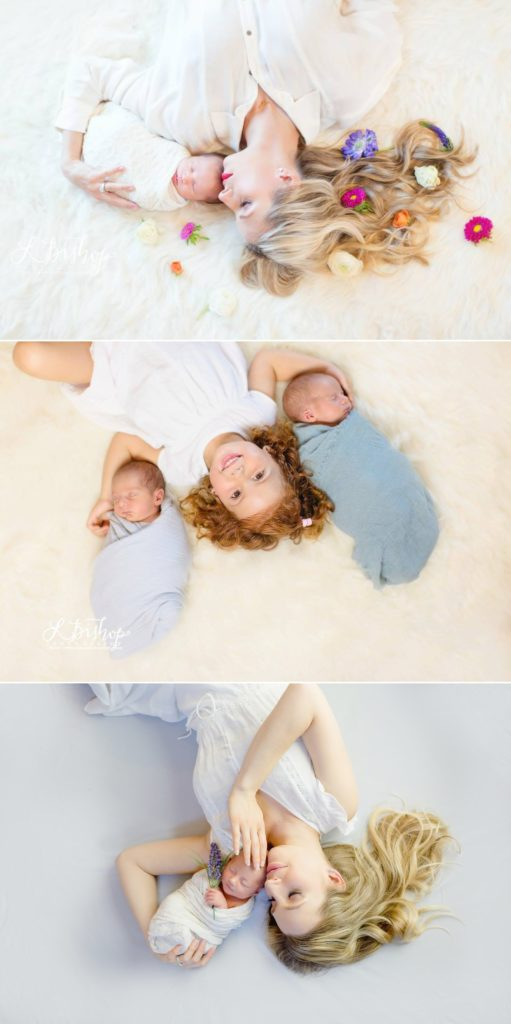 Artistic professional portraits of newborns taken in San Francisco