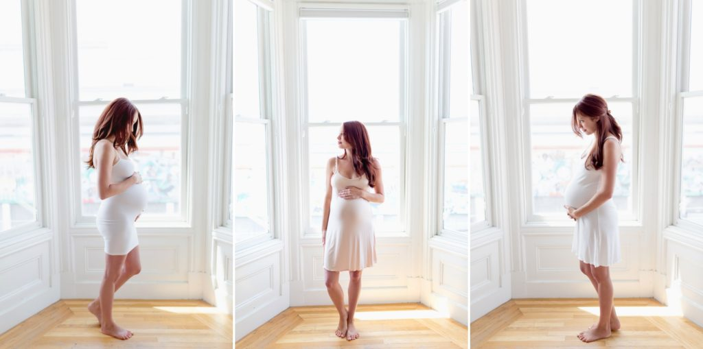 Maternity portraits taken in san francisco by a professional photographer